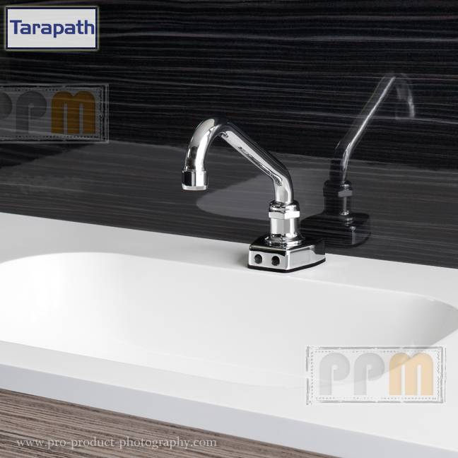 Taps Bathroom Metal product Photography