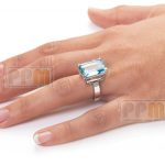 Ring on finger jewellery photography