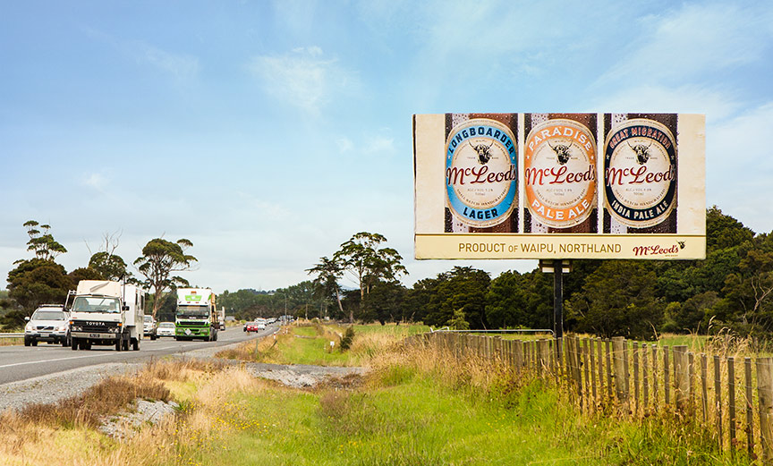 Just Spotted Our bottle Images On Highway Signage ;) <h4>NZ Photographer</h4>