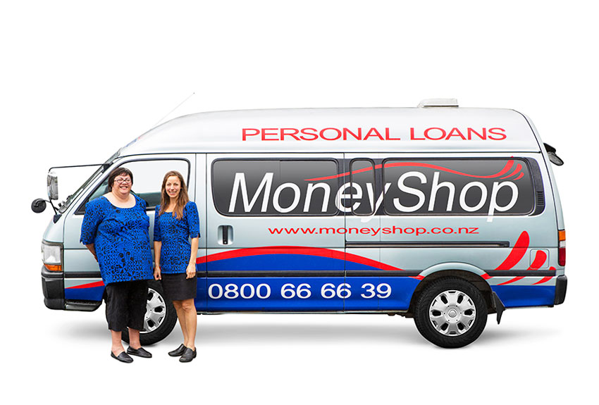 Vehicle Photography For Moneyshop Group Auckland