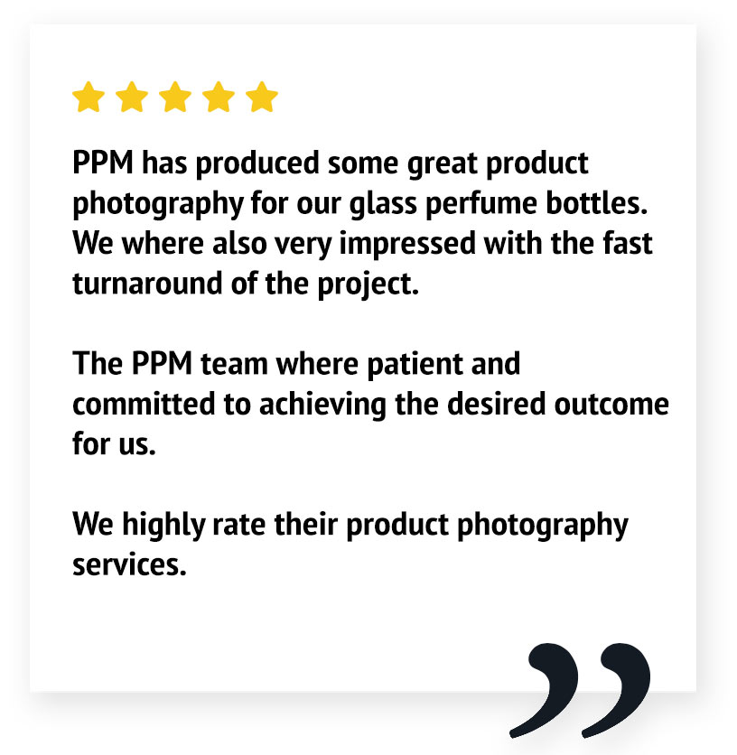 5 star review product photography Auckland nz
